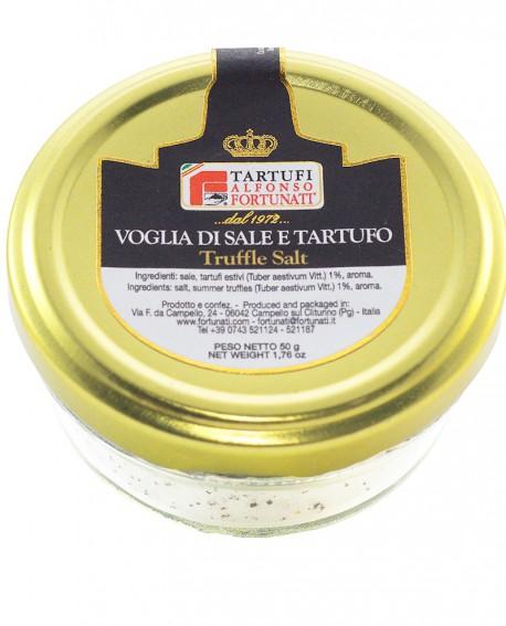 Sale a Tartufo Estivo 50 g, in vasetto di vetro - Tartufi Alfonso Fortunati