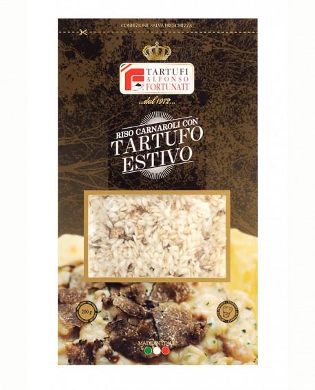 Riso e Tartufo Estivo 500 g, in busta - Tartufi Alfonso Fortunati