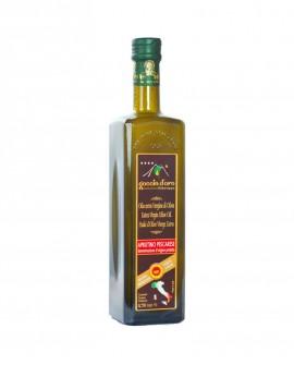 Aprutino Pescarese DOP - Olio Extra Vergine di Oliva - bottiglia 0,75 lt - Goccia d'Oro d'Abruzzo