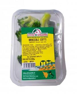 Broccoli cotti - vaschetta 400g sottovuoto - L' Orto di Graziella