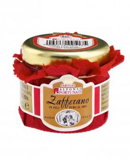 Zafferano in fili puro al 100%,in vasi da 1 g - Tartufi Alfonso Fortunati