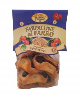 Farfalline al farro frutti di bosco - 250g - Pasticceria 7 Porte Nursine - Dolciaria Severini