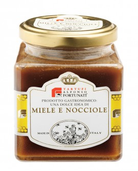 Miele e Crema di Nocciole 250 g - Tartufi Alfonso Fortunati