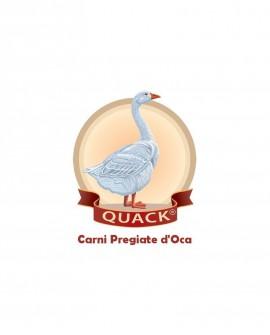 Gran Creolo - 400g - salame puro d'oca con tartufo nero e cioccolato 100% fondente - Quack Italia