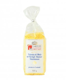 Polenta al Tartufo Bianco 300 g, in busta - Tartufi Alfonso Fortunati