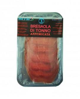 Affettato Bresaola di Tonno affumicata - skin 50g - scadenza 33gg - Salumi di Mare