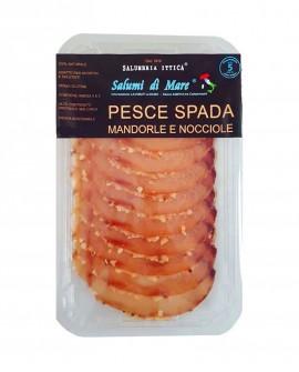 Affettato Pesce Spada in crosta di mandorle e nocciole - skin 50g - Salumi di Mare