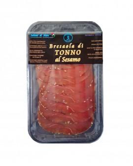 Affettato Bresaola di Tonno in crosta al sesamo - skin 50g - scadenza 33gg - Salumi di Mare