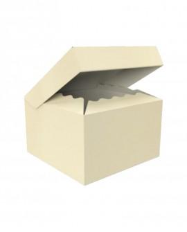 Bauletto con coperchio attaccato alla scatola 25x25 H15 - n.20 pezzi - Cesteria M.B. Service