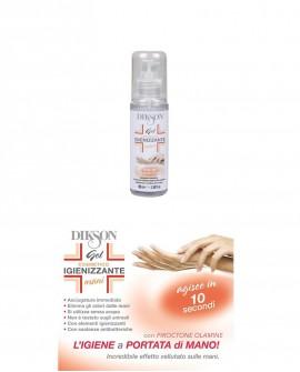Gel Igienizzante disinfettante per mani antibatterico 100 ml - certificato - si utilizza senza acqua - Müster & Dikson