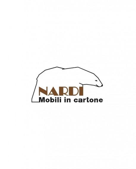 Espositori Ripiano in vetro trasparente per Grostè 1, 2, 3 - Nardi Mobili in Cartone