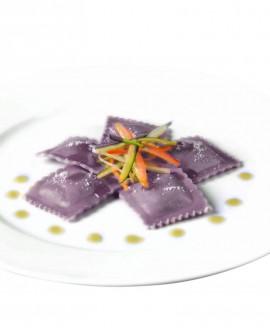 Ravioloni viola alla selvaggina - 1 kg - pasta surgelata - CasadiPasta
