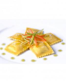 Ravioloni d'estate (pomodoro, mozzarella, basilico) - 1 kg - pasta surgelata - CasadiPasta
