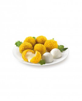 Mozzarelline panate 30g surgelato - cartone 6 kg - Frittoking