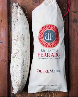 Bresaola della Valtellina artigianale, Magatello delicata Oltremera - 1,6 kg stagionatura 45gg - Bresaola Ferraro
