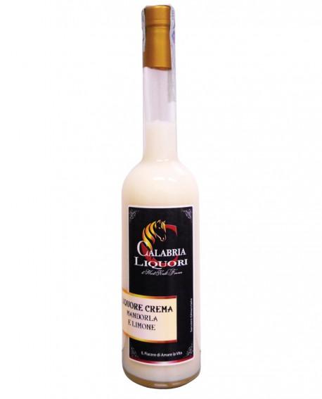 Liquore crema di Mandorla e Limone 500ml - Calabria Liquori