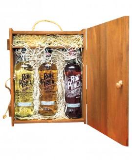 Cassetta Degustazione Rum - n.3 bottiglie Rhum 0,70 litri cadauna - PERLA DEL NORTE Ron