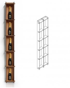 Espositori Flim 2 - Nardi Mobili in Cartone