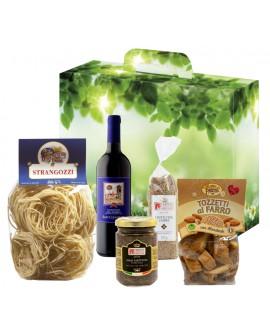 Scatola regalo enogastronomica - n.5 specialità dell'Umbria