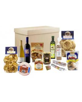 Scatola regalo enogastronomica - n.13 specialità dell'Umbria