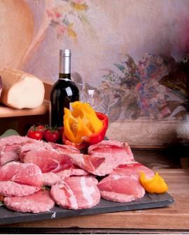 Hamburger vitello tirolesi con speck e scamorza 150g - Salumificio Gamba Edoardo