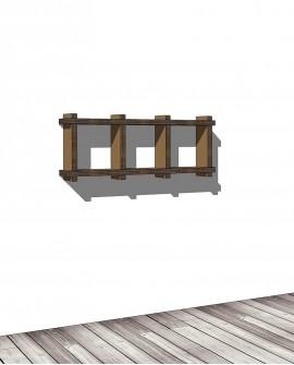 Librerie Sea 13 - Nardi Mobili in Cartone