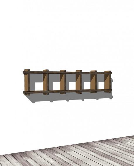 Librerie Sea 15 - Nardi Mobili in Cartone