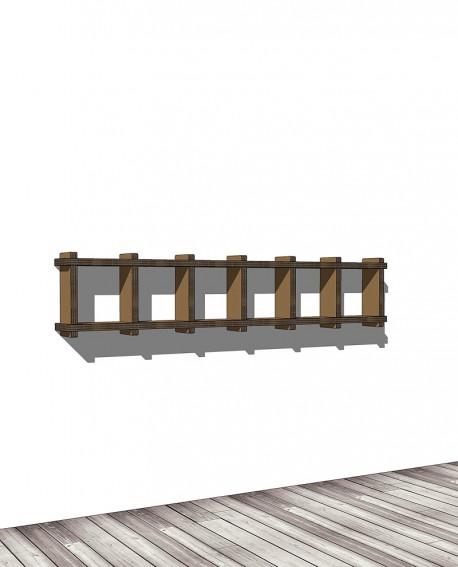 Librerie Sea 16 - Nardi Mobili in Cartone