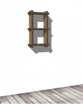 Librerie Sea 21 - Nardi Mobili in Cartone