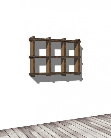 Librerie Sea 23 - Nardi Mobili in Cartone