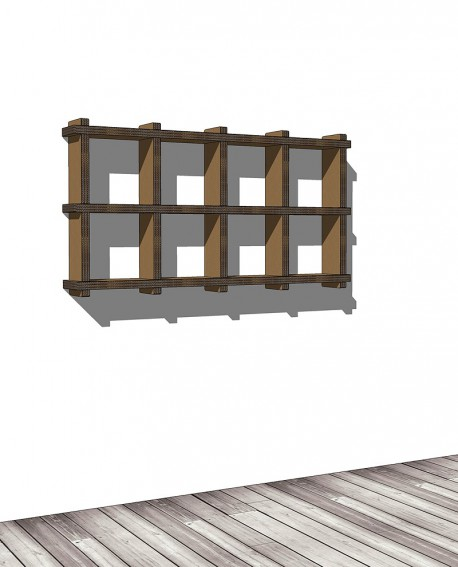 Librerie Sea 24 - Nardi Mobili in Cartone