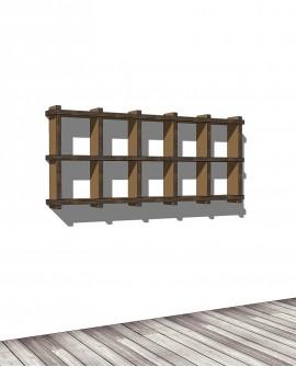 Librerie Sea 25 - Nardi Mobili in Cartone