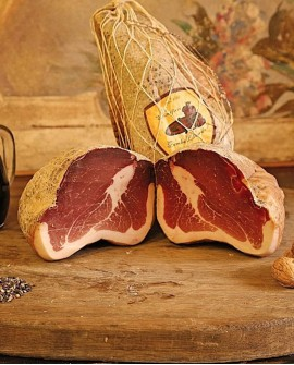 Culatta tipica di Parma 2,5 kg sottovuoto - Salumificio Gamba Edoardo