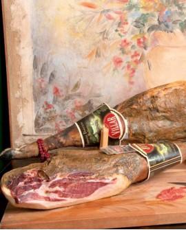 Prosciutto crudo Patanegra bellota senza osso gran riserva stagionato 36 mesi 8.5kg - Salumificio Gamba Edoardo