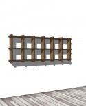 Librerie Sea 26 - Nardi Mobili in Cartone