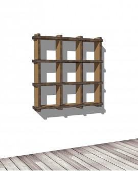 Librerie Sea 33 - Nardi Mobili in Cartone