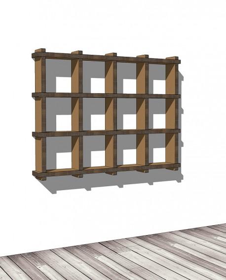 Librerie Sea 34 - Nardi Mobili in Cartone