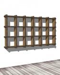 Librerie Sea 36 - Nardi Mobili in Cartone