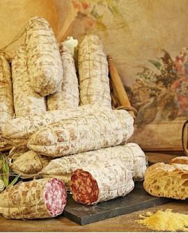 Salame cresponetto con branzi 700g - Salumificio Gamba Edoardo