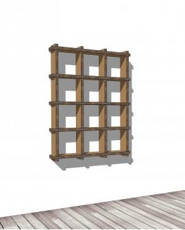 Librerie Sea 43 - Nardi Mobili in Cartone