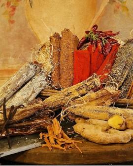 Slinzega lussuria suino arancio e cannella 500g premio gambero rosso - Salumificio Gamba Edoardo