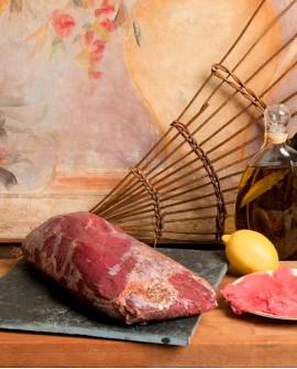 Carpaccio di magatello manzo affumicato 3.5kg - Salumificio Gamba Edoardo