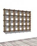 Librerie Sea 46 - Nardi Mobili in Cartone