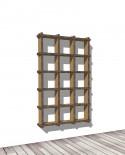 Librerie Sea 53 - Nardi Mobili in Cartone