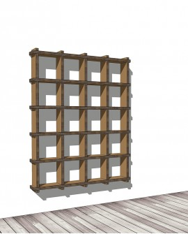Librerie Sea 54 - Nardi Mobili in Cartone