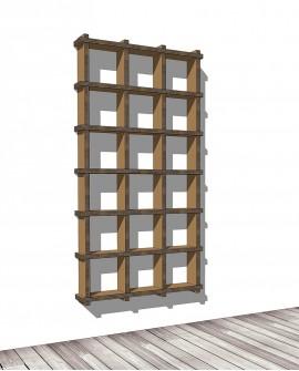 Librerie Sea 63 - Nardi Mobili in Cartone