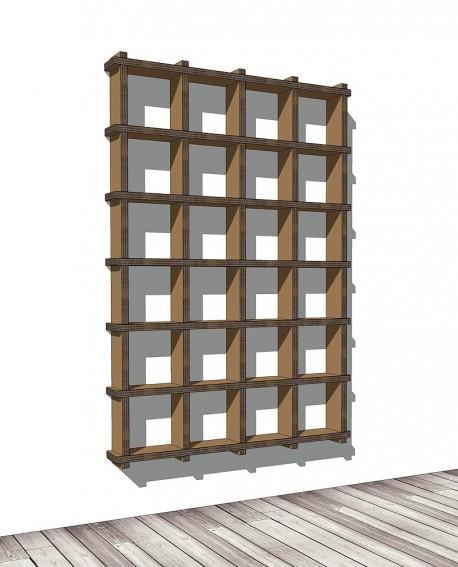 Librerie Sea 64 - Nardi Mobili in Cartone