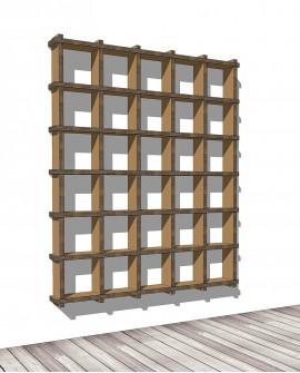 Librerie Sea 65 - Nardi Mobili in Cartone