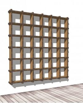 Librerie Sea 66 - Nardi Mobili in Cartone