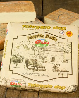 Vecchia Baita taleggio Dop valsassina bassa 1.7kg stagionatura 50gg - Gildo Formaggi